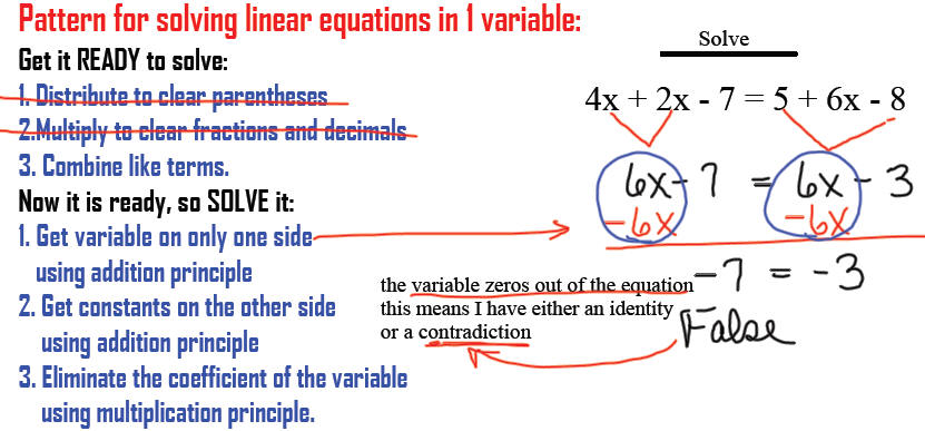 How To Solve Equation With Variables On Both Sides - Jennarocca