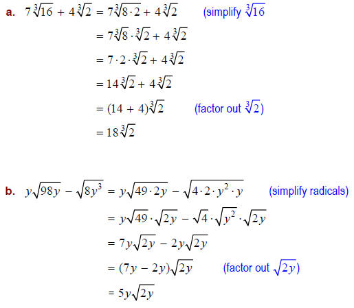 Addition And Subtraction Of Radicals Solver adding and – Addition and Subtraction of Radicals Worksheet